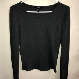 Forever 21 charcoal long sleeve